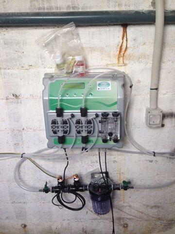 Instalacion de filtro piscina , dosificadores , bombas piscina